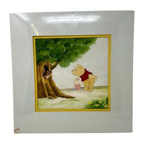 New Sealed Vtg Winnie The Pooh Piglet Watercolor